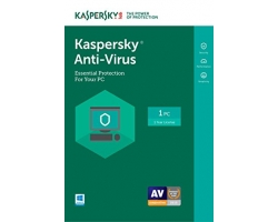 Kaspersky Anti Virus 2017 (KAS) 1PC