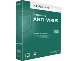 Kaspersky Anti Virus 2017 (KAS) 3PC